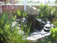 Water Feature in Garden of Hope
