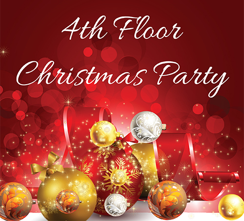 4th Floor Christmas Party 2019
