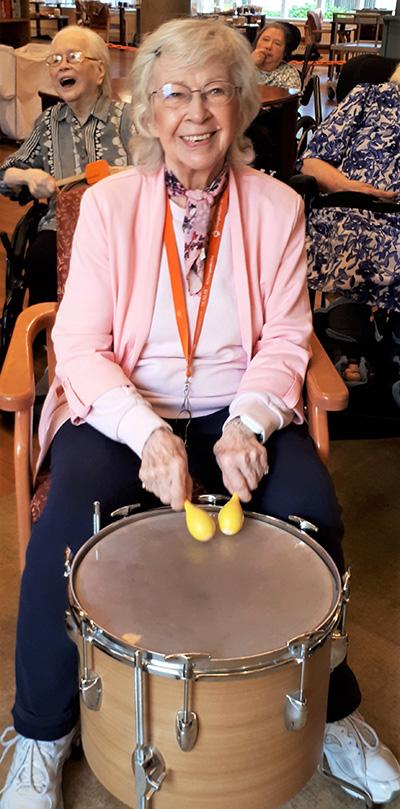 Helen Drumming